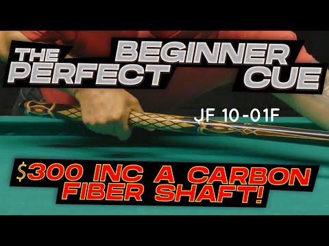 2021 Pool Cue Review: JFlowers JF 10-01F ($300 inc a carbon fiber shaft!)