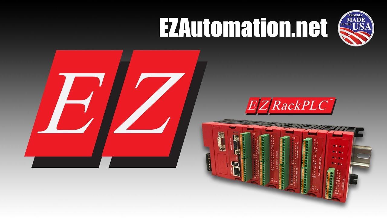 EZRack PLC - Industrial Internet of Things (IIoT) Ready