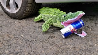 Crushing Crunchy & Soft Things by Car! EXPERIMENTS - CROCODILE VS CAR