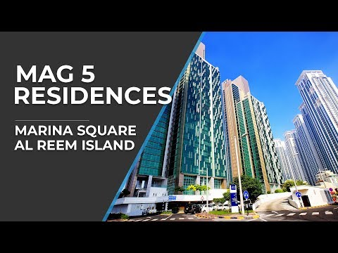 MAG 5 Residences, Marina Square, Al Reem Island Abu Dhabi