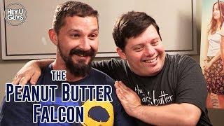 Shia LaBeouf amp Zack Gottsagen Interview - The Peanut Butter Falcon