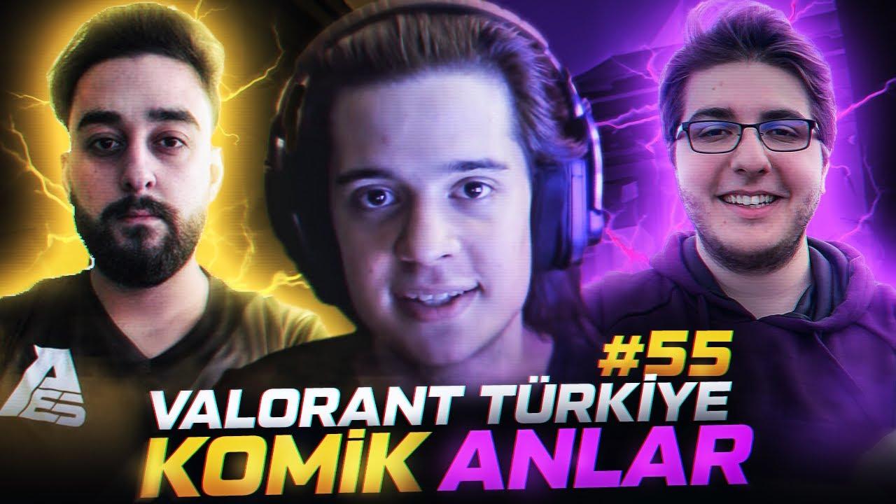 VALORANT Türkiye Komik Anlar ve En İyi Vuruşlar #55