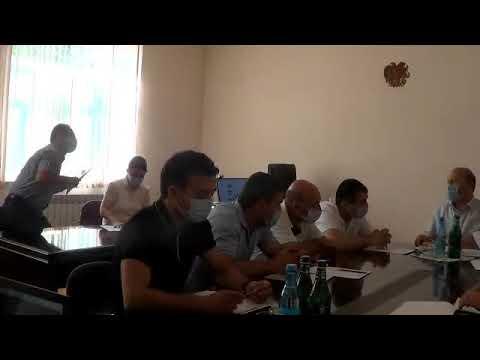 Բյուրեղավան համայնքի ավագանու նիստ,09.09.2020