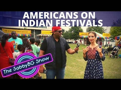What AMERICANS think of INDIAN FESTIVALS | Shudh Desi Street Show - Ep. 7 | Americans on India