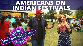 AMERICANS participating in INDIAN FESTIVALS | AMERICANS on INDIANS