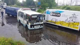 Венеція на вулицях Ковеля (потоп у Ковелі 01.06.2016)