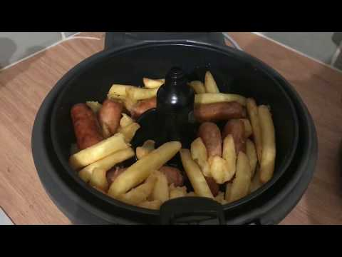 Tefal Actifry - Sausage & Chips - How To Cook With Sammiie