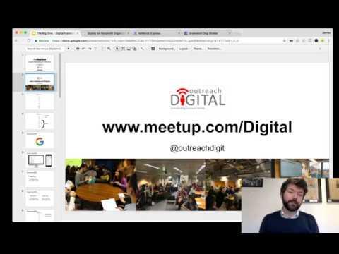 Digital Marketing Webinar (run in partnership with Outreach Digital)
