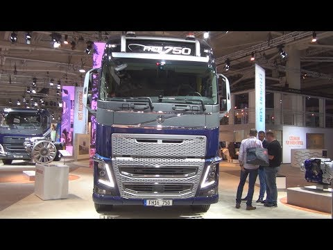 Volvo FH16 750 8x4 Heavy Duty Tractor Truck (2017) Exterior And Interior