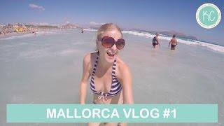 VAKANTIE MALLORCA VLOG #1: ZWEMMEN IN DE ZEE | Kelly caresse