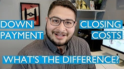 What's the difference between a Down Payment and Closing Costs? (first time home buyers)