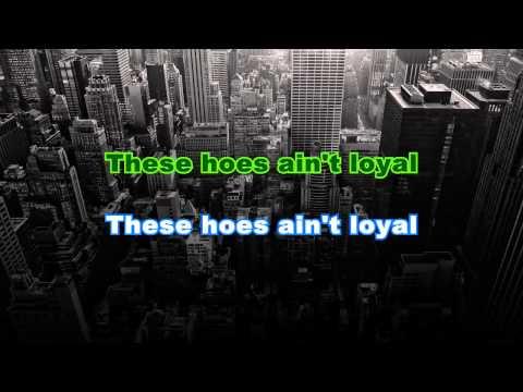 Chris Brown - Loyal (Karaoke/Instrumental) Ft. Lil Wayne, French Montana & Too Short with lyrics