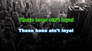 Chris Brown - Loyal (Karaoke/Instrumental) Ft. Lil Wayne, French Montana & Too Short with lyrics