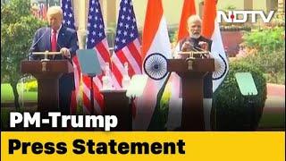 PM Modi, Donald Trump's Joint Press Statement
