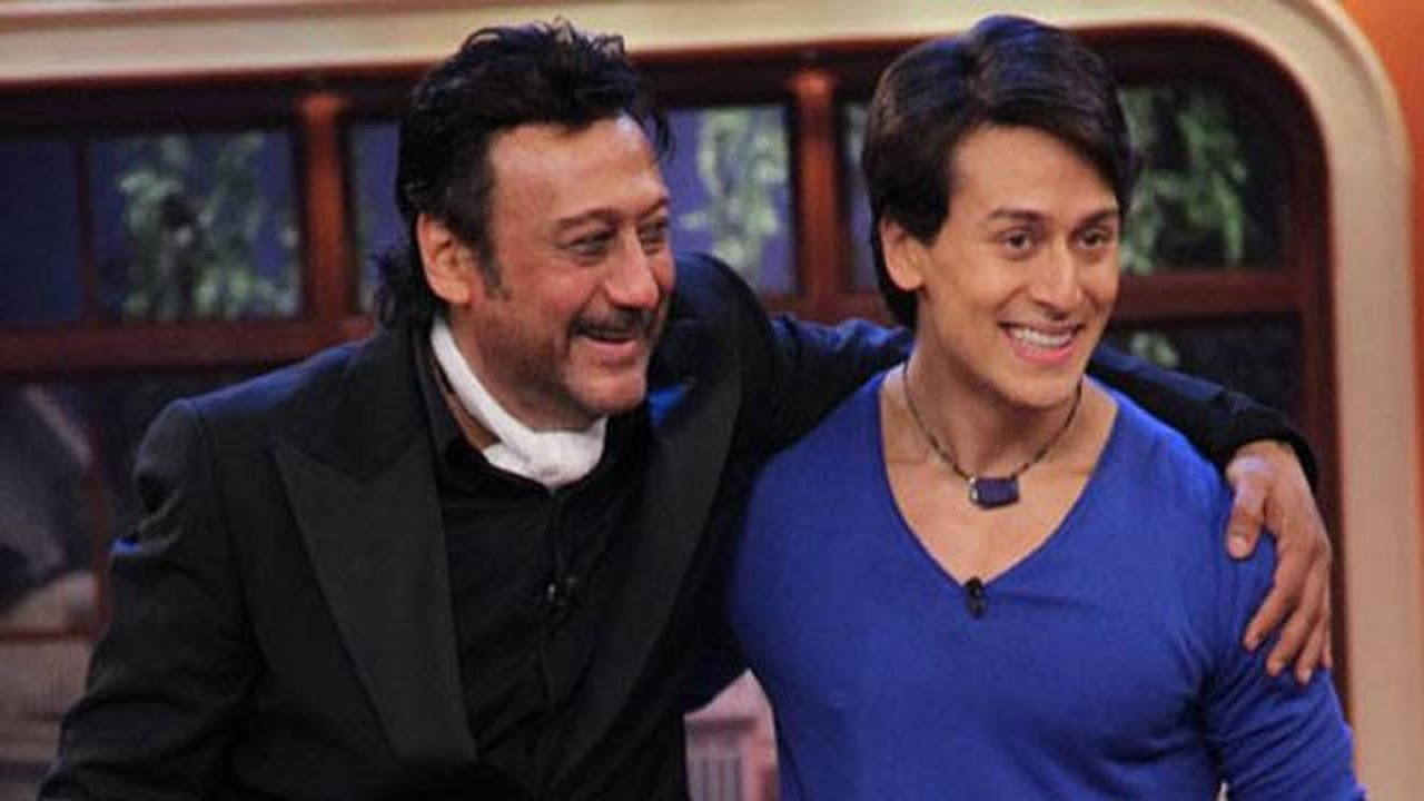 Image result for tiger shroff with father