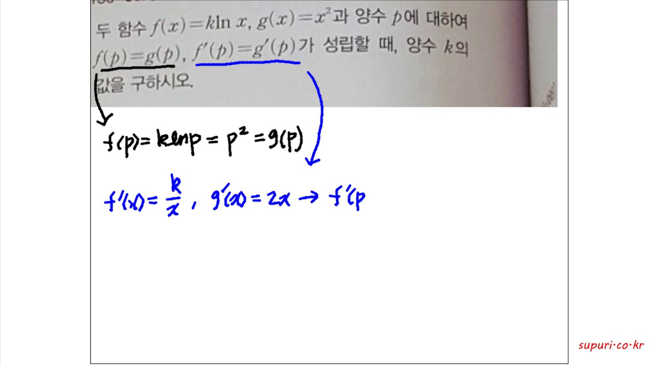 수푸리-지수함수와 로그함수의 미분 .. (수능 수학) - YouTube