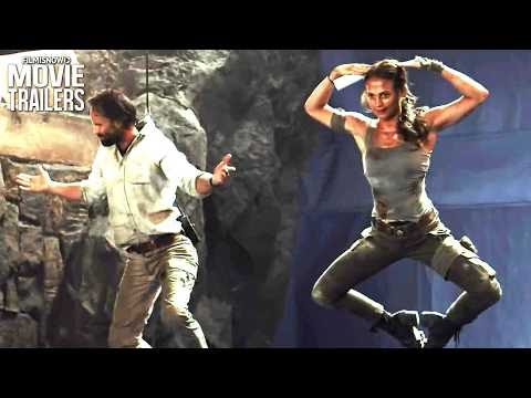TOMB RAIDER | Find out how they made video game action movie adaptation