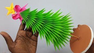 Paper Christmas Tree | How to Make a 3D Paper Xmas Tree DIY Tutorial | Christmas Decor