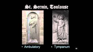 Romanesque Pilgrimage Churches: St. Sernin, Toulouse, Sculpture
