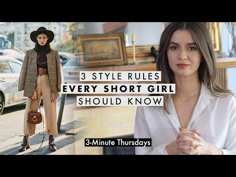 Fashion Finds - 3 Style Rules EVERY Short Girl Should Know