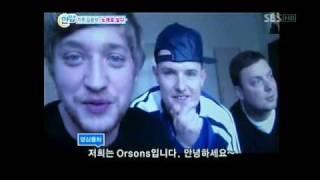 Die Orsons - im koreanischen Fernsehen