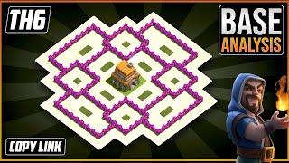 The BEST TH6 HYBRID/TROPHY[defense] Base 2021!! Town Hall 6 Hybrid Base Design - Clash of Clans