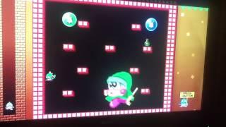 Bubble Bobble neo Final boss battle (Bad ending)