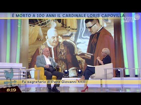 E' morto a 100 anni il cardinale Loris Capovilla
