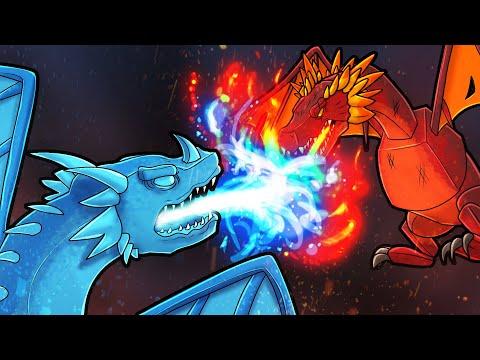 Ice Vs Fire! (Minecraft Dragons)