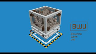 BWU - An Unstable Self-replicating Modular Machine [Minecraft]