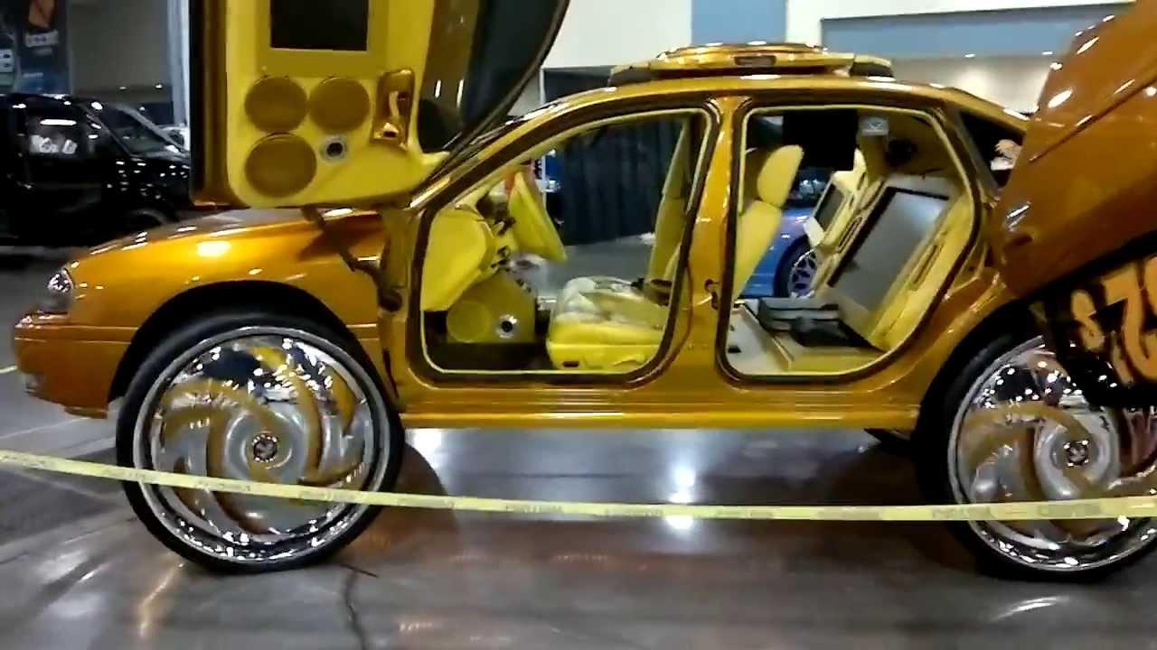 Dub Carshow Miami 2013 Impala On 32s Youtube