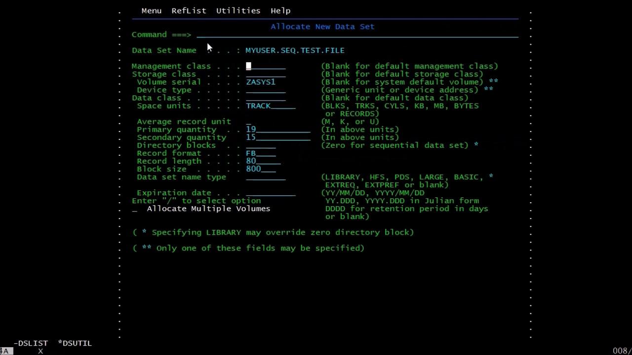 z/OS Tipps und Tricks - ISPF Commands II