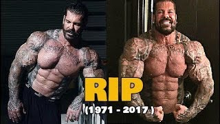Rich Piana is Dead After 20 Years Of Steroids Use || Tribute (1971 - 2017 )