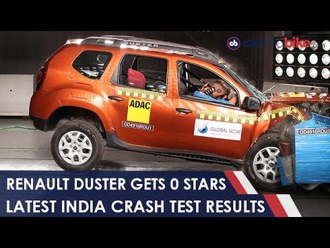 Zero Stars For Renault Duster In Global Ncap Crash Test 2017 Ndtv Carandbike