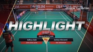 Aditya Zaki Jaya Raya Altis VS Joshua Giovanni KSC Surabaya