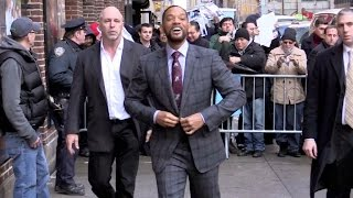 EXCLUSIVE - Super smiley Will Smith in New York City