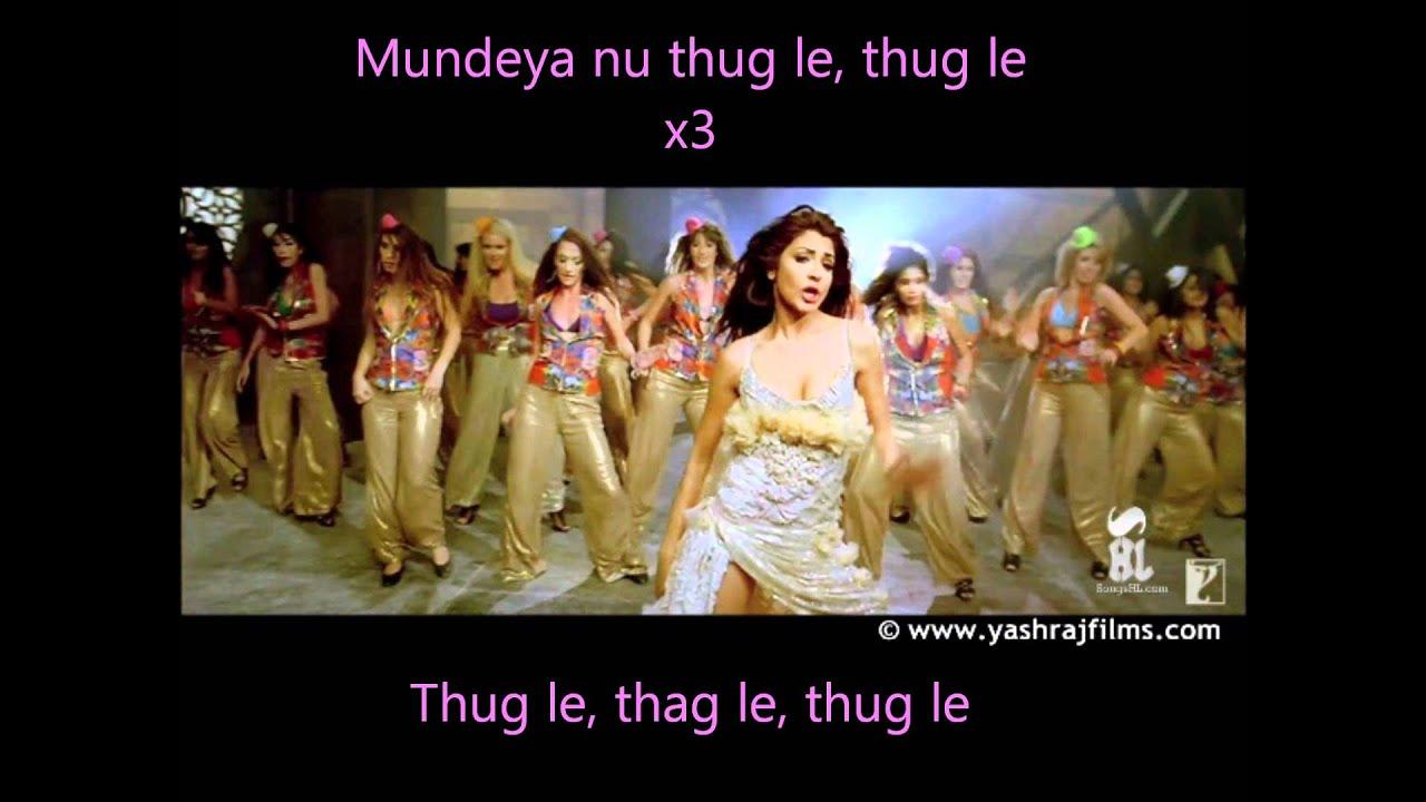 Thug Le Lyrics from Ladies V/s Ricky Bahl | LyricsMasti.Com