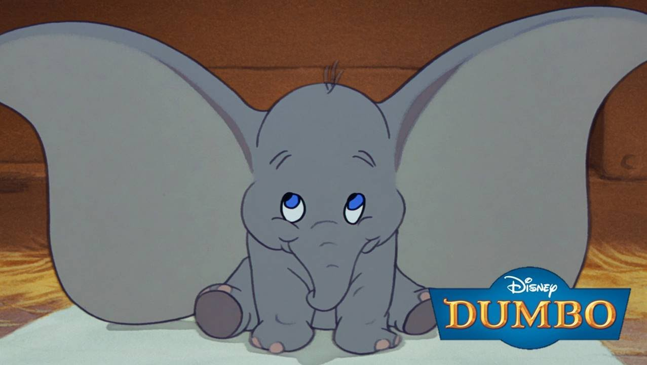 Momento Disney Dumbo El Elefante De Las Orejas Grandes  YouTube