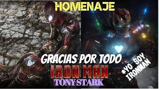 Avengers4 ENDGAME (YO SOY IRONMAN) y Trono los Dedos Prohibido Llorar Un Homenaje Adios *Tony Stark*
