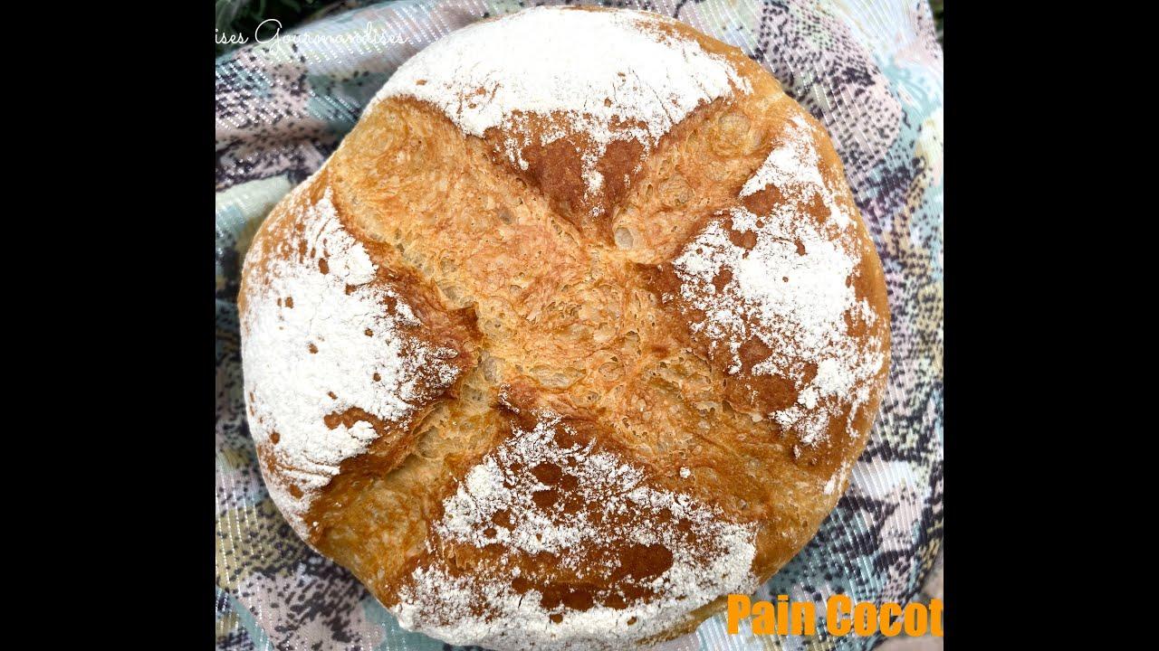 recette pain cocotte comme chez le boulanger ultra facile au cook expert magimix