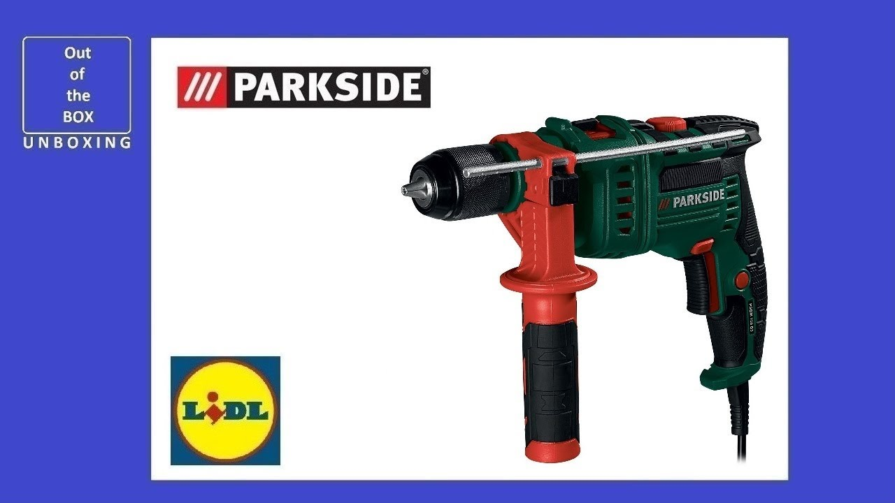 Parkside Cordless Hammer Impact Drill Pabh 20 Li B2 Unboxing