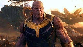 Танос против железного человека_4K.Смерть Тони Старка | Мстители 3 Война бесконечности.Не финал