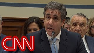 Cohen calls Trump a racist: 'In private, he's even worse'