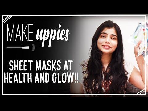 Sheet Masks at Health and Glow!!