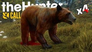 ZABIŁEM 4 NIEDŹWIEDZIE! | theHunter: Call of the Wild #5 [PL]