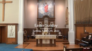 April 12th, 2020- Easter Sunday