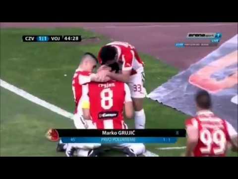 Marko Grujić amazing goal vs Vojvodina (7.5.2016)
