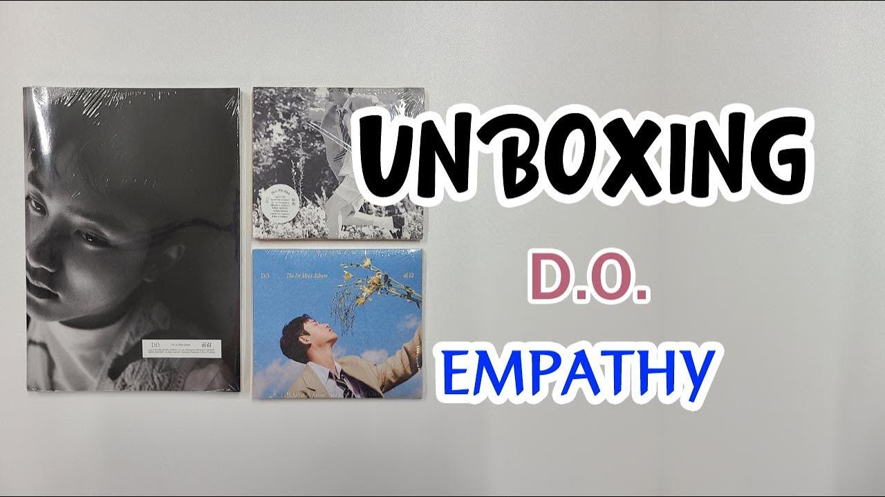 엑소 디오 D.O.  첫번째 미니 앨범 공감 풀버전 개봉 후기