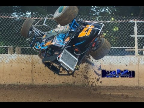 Shellhammers Speedway 6/24/15 Mike Kalman 270 Feature