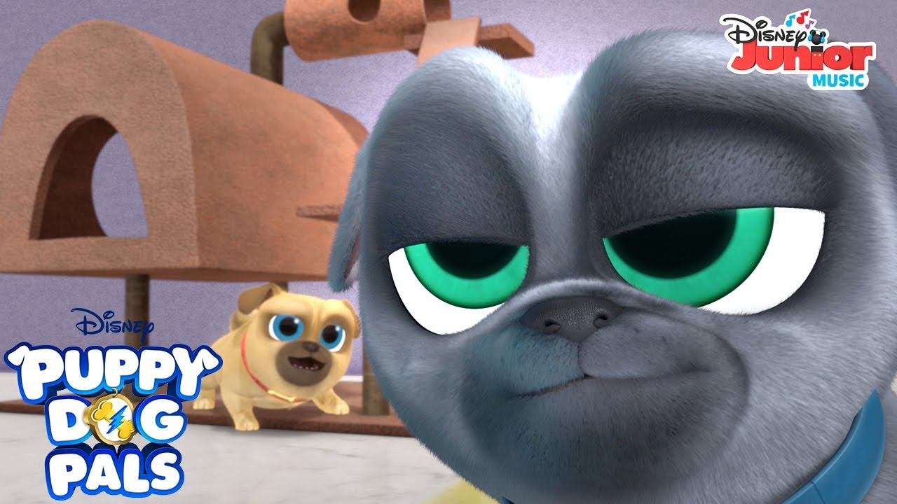 The Hunt For Hissy Music Video Puppy Dog Pals Disney Junior